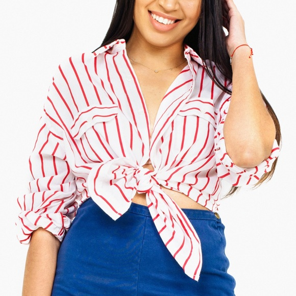 Blair Other - Vintage Striped Button-Up